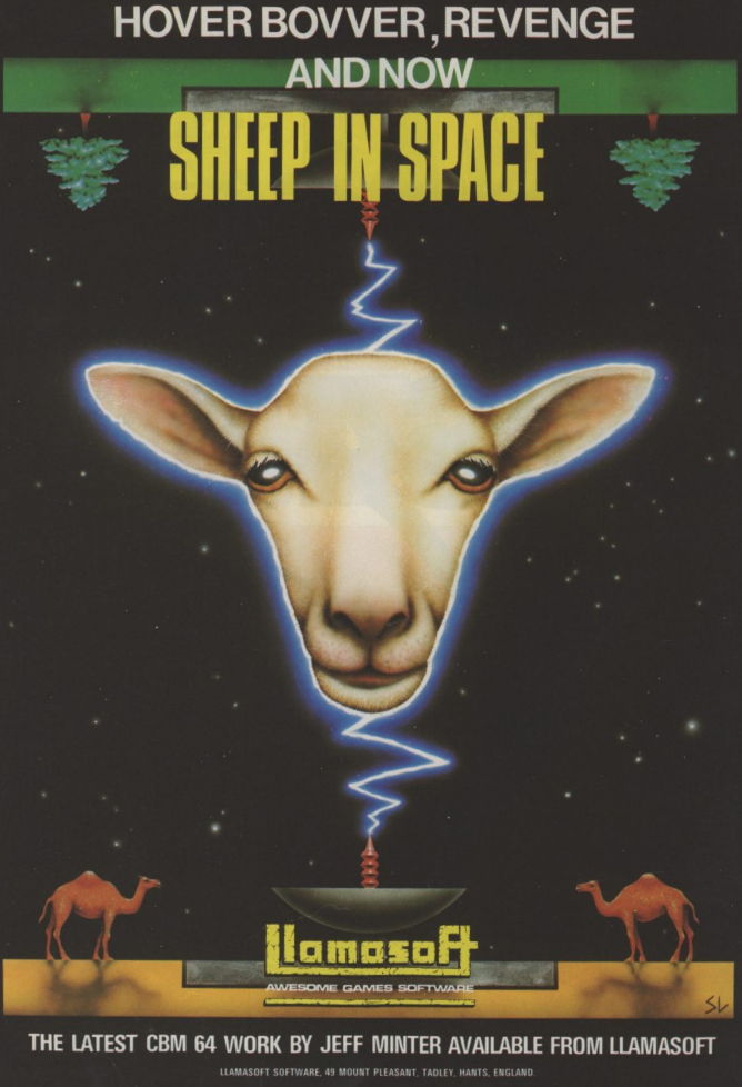 Sheep In Space ad