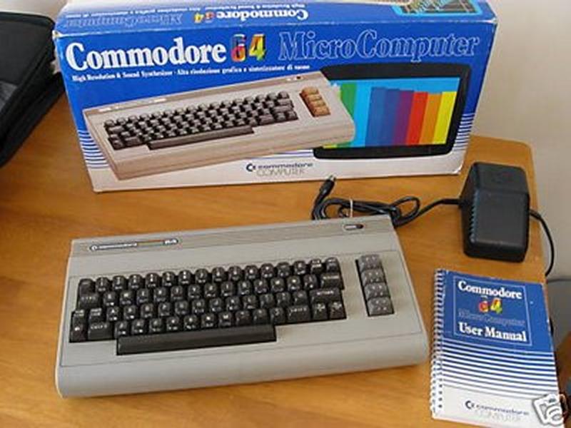 Not my C64.