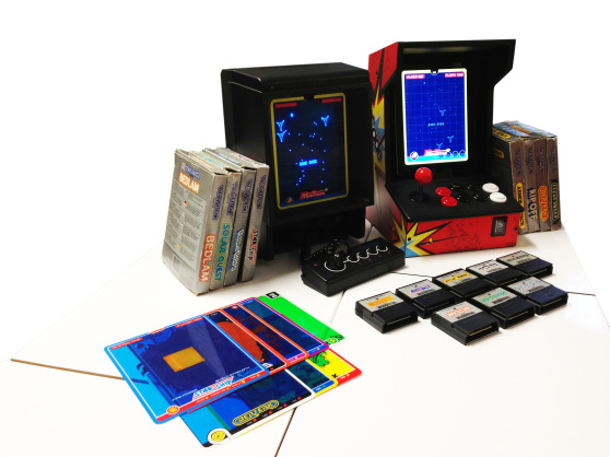 A Vectrex, and stuff.