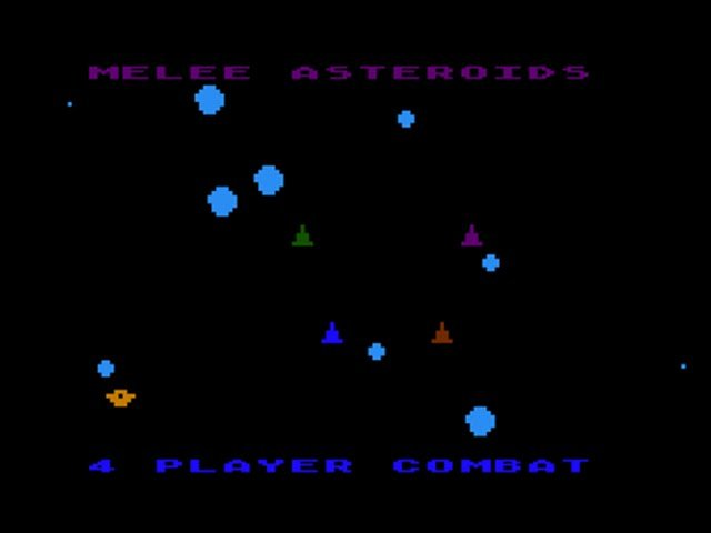 Multiplayer Asteroids